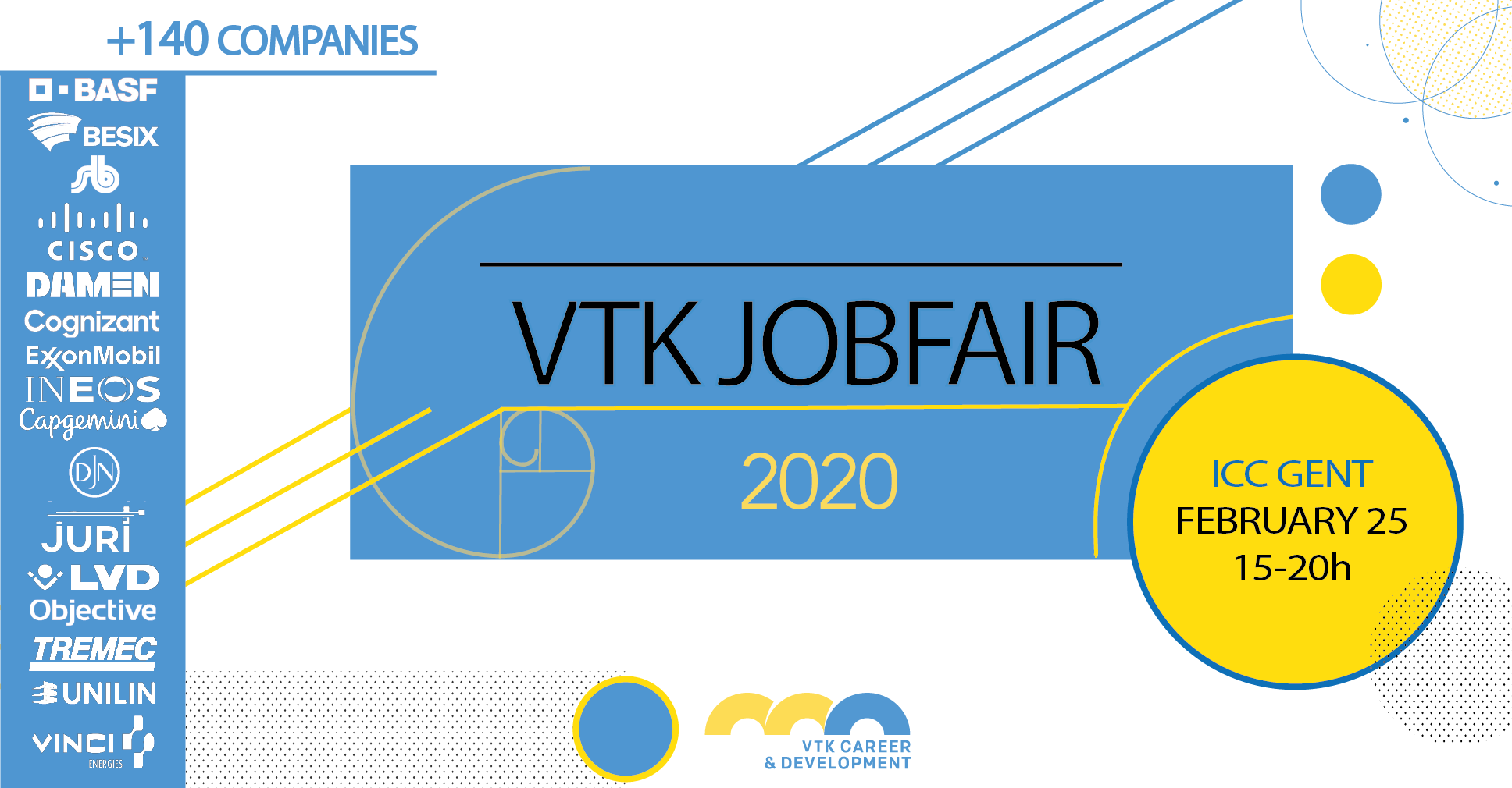 Subscribe for the VTK Jobfair
